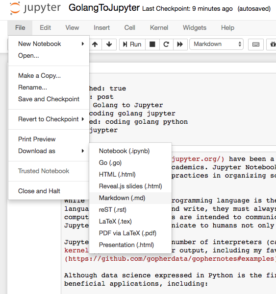 Notebook Screenshot Markdown