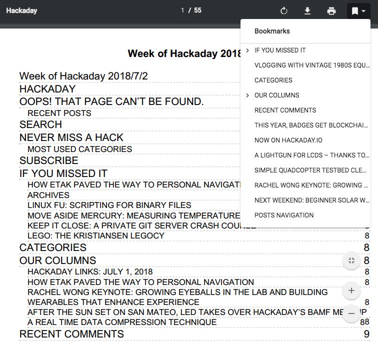 hackaday pdf